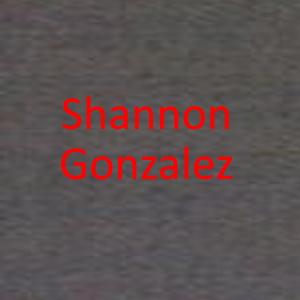 Shannon Gonzalez
